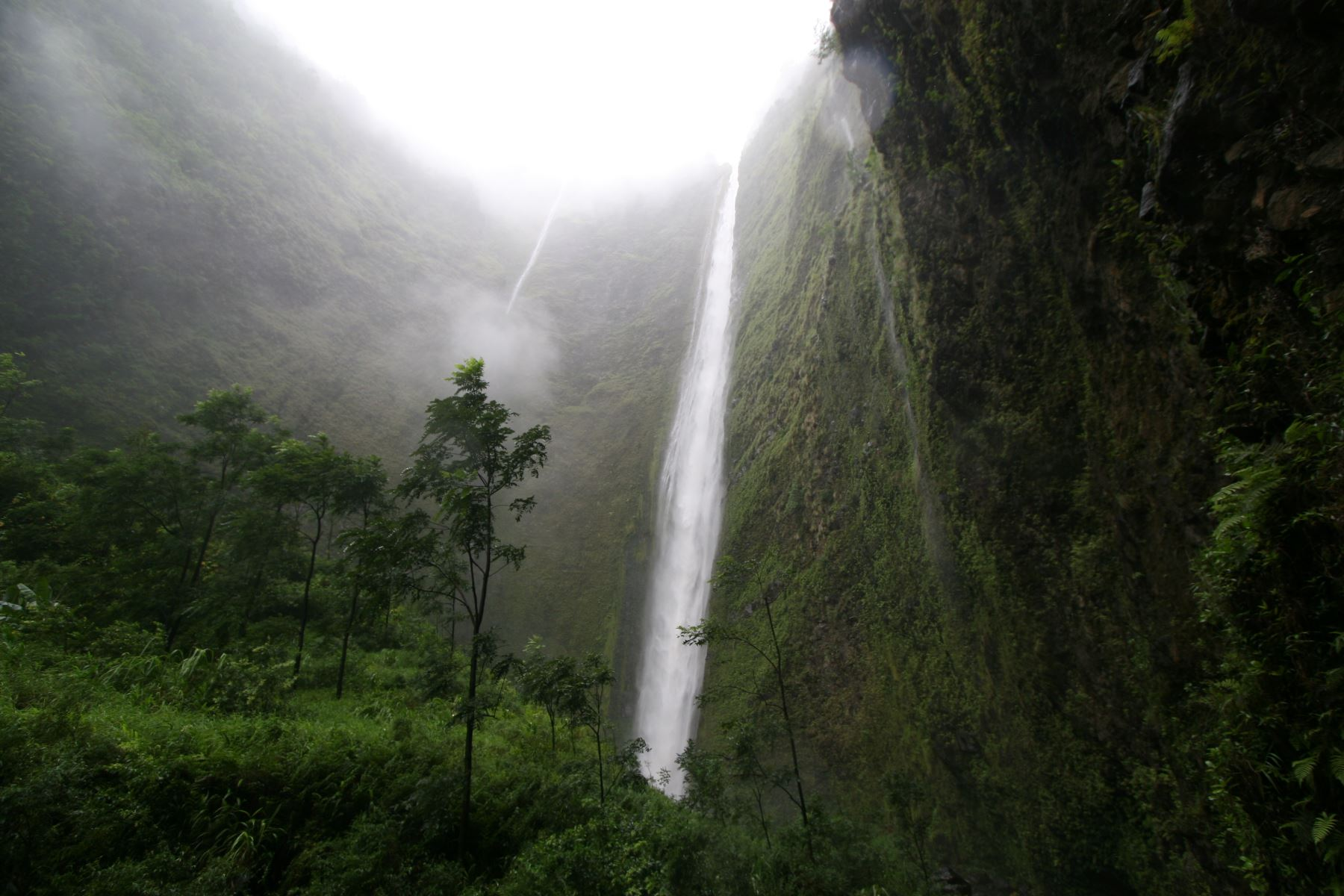 Waipio Waterfall Hawaii